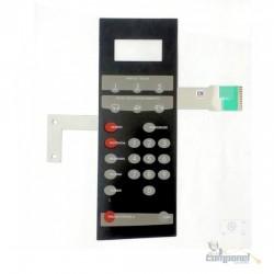 Membrana Teclado Microondas Brastemp Bmp 40 esb